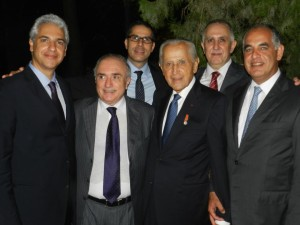 A recognition of 50 years of serving lebanon through the Parliment
