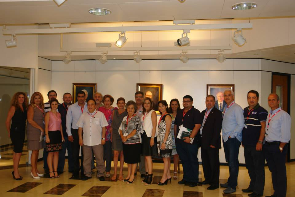 Meeting with LAU alumni presidents from around the globe with the objective to draw strategies related to fund raising supporting Education