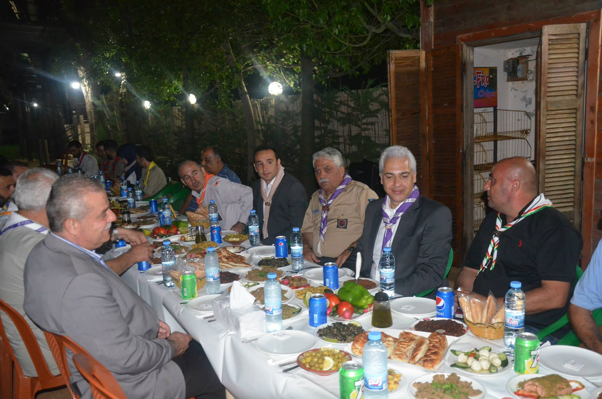 Scouts reunion dinner organized with the objective to strengthen cooperation between scouts organizations leading to betterment in societies