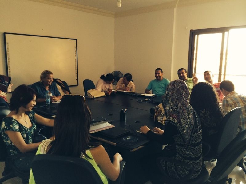 During the Free training courses in English Languages